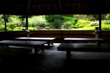 石山寺の無憂園