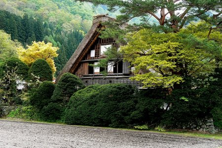 Minggu Emas di Shirakawa-go