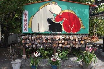 Đền Bishamonten Myoho, Fuji