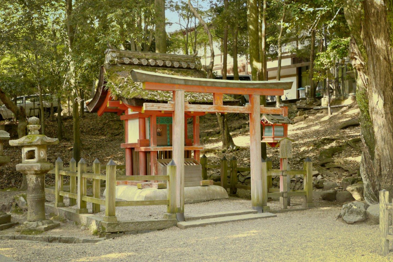 Un petit autel sur le chemin du sanctuaire