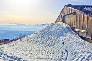 <p>A mountain hut beyond &#39;Kyu-go-me&#39; area</p>