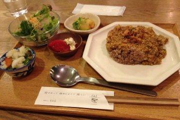 상미, 오사카의 유기농 음식