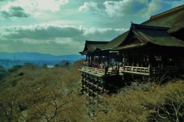 Kiyomizu Temple in Early Spring