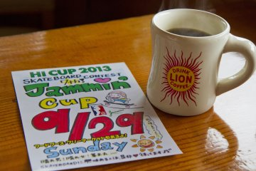 <p>Lion coffee and events sponsored by the cafe</p>