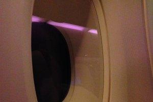หน้าต่างขนาดใหญ่บนแอร์บัส A380