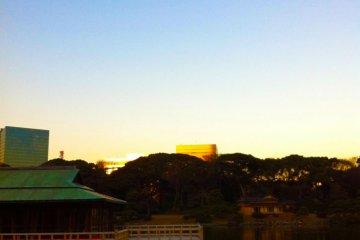 <p>A beautiful clear sky!</p>