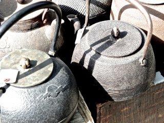 Antique kettles