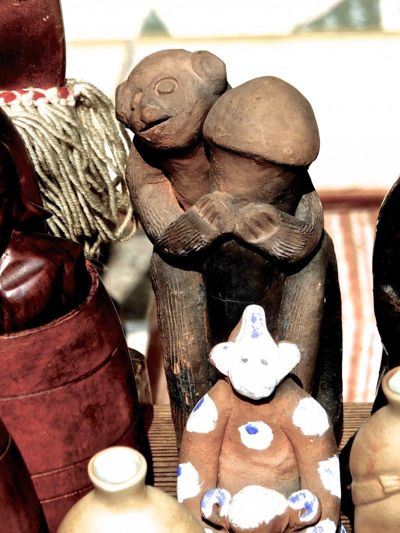 도지의 골동품 시장