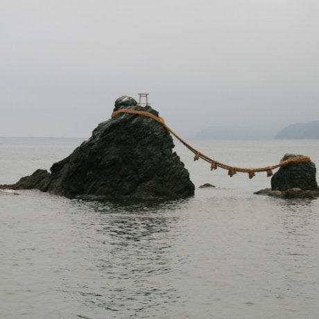 The Sacred Rocks of Meoto Iwa