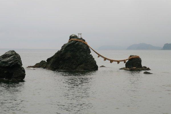 The wedded rocks at Futami