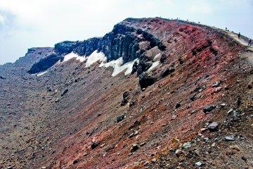 Восхождение на гору Асама