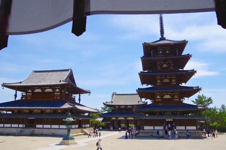 Horyu-ji Temple's Western Precinct