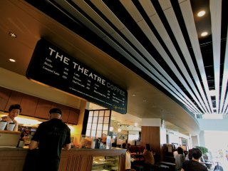 """อีกหนึ่งมุมของ """"The Theatre Coffee"""""""