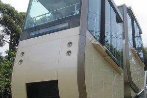 Monorail Cable Car with expansive views