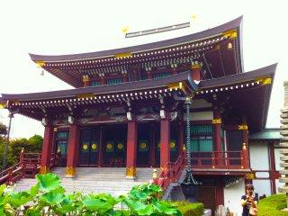Construção principal do Templo Jourenji