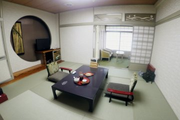 <p>A Japanese-style room&nbsp;</p>