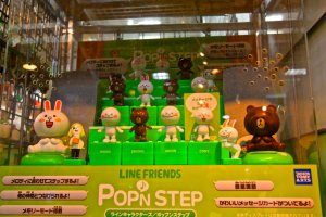 Brown และ Cony จาก LINE.