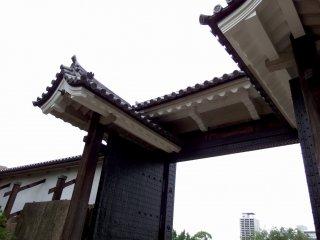 桜門のクローズアップ