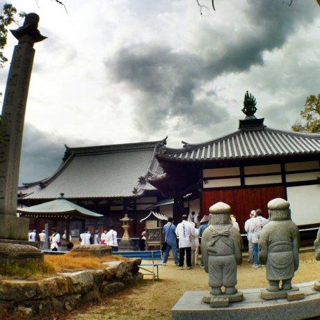 Kokubun-ji Temple in Imabari