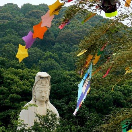 Tanabata em Kodai-ji