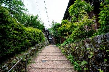 Tsumago dans la Vallée de Kiso
