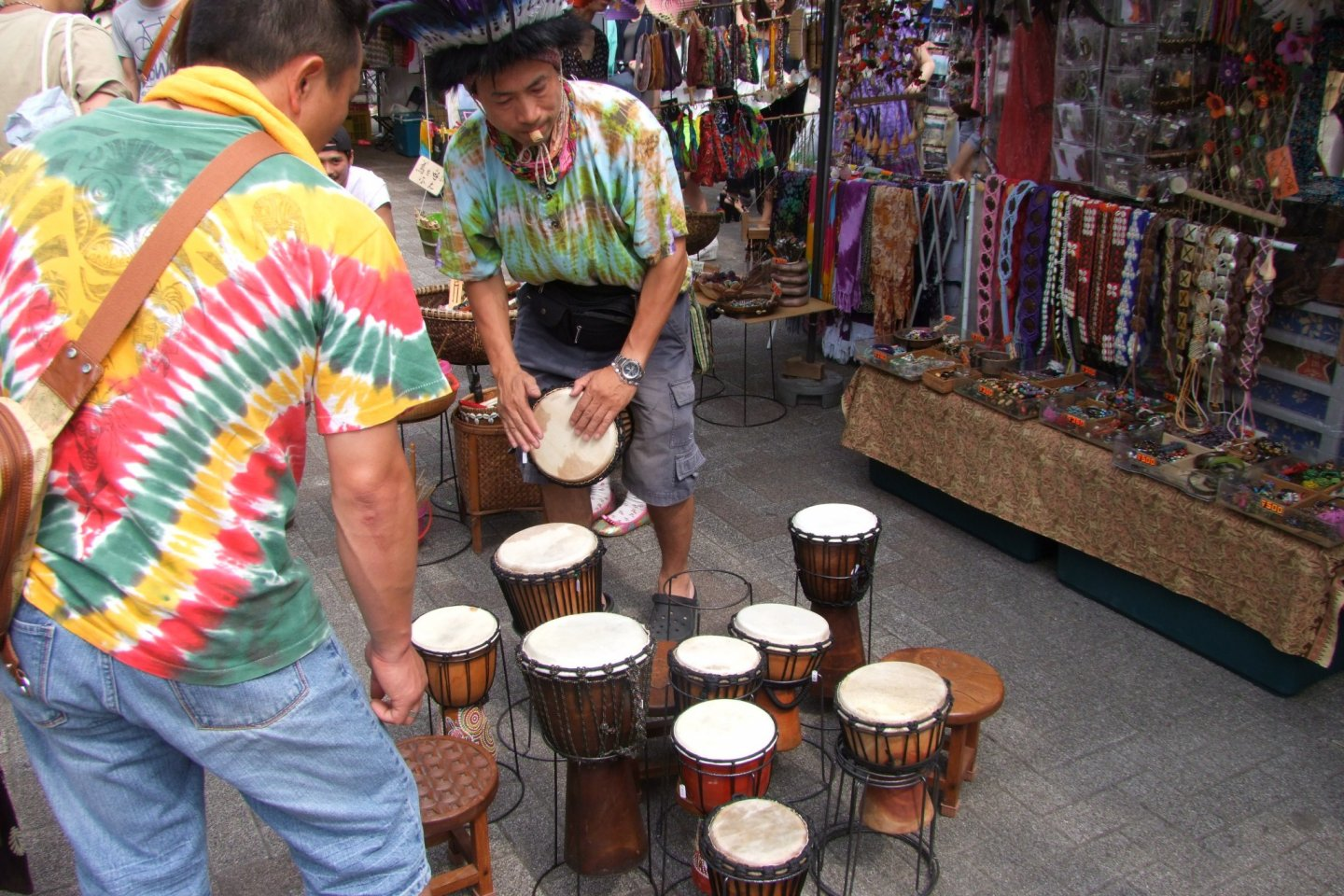 Reggae isn't complete without the drums