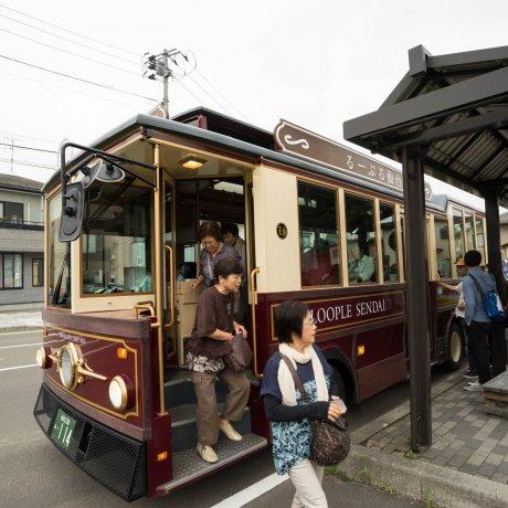 Autocarro de Turismo de Sendai Loople