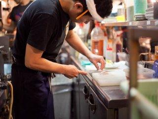 Подготовка якитори к готовке
