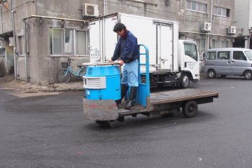 <p>The carts outside are faster than they look, and don&rsquo;t stop for anybody!</p>