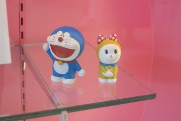 <p>可爱的哆啦A梦和哆啦美</p>