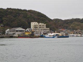 Bến tàu đầy những chiếc du thuyền chở khách khám phá những hòn đảo xinh đẹp gần đó