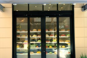 "Visit ""Café comme ca"" for wonderful fruit tarts and parfaits"