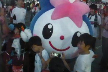 <p>The Sakado&nbsp;city mascot</p>