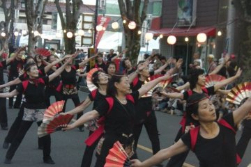 <p>Sakado Yosakoi&nbsp;festival&nbsp;</p>