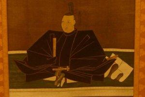 Kato Kiyomasa scroll