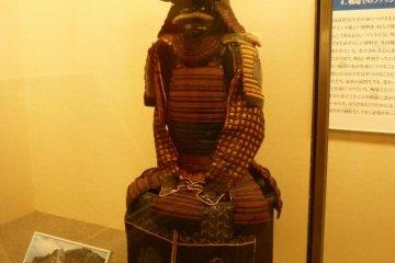 Samurai armour worn by Toyotomi Hideyoshi