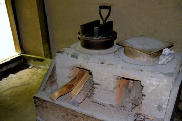 <p>Cooking stove</p>
