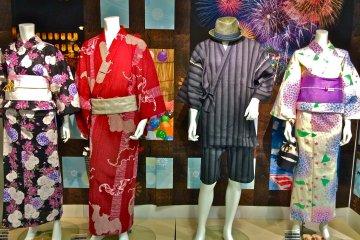 Yukata Shopping for Hanabi Season