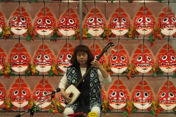 <p>The ASPAM building hosts musical performances twice daily</p>