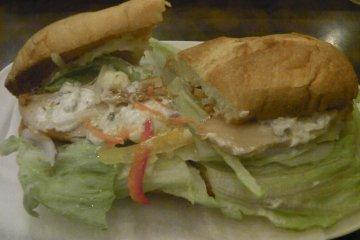 <p>A delicious sandwich</p>