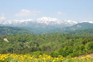 The Iide mountain range