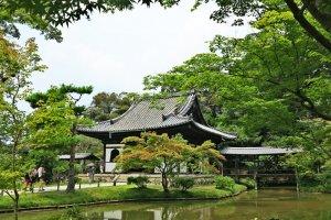 高台寺一景:庭院