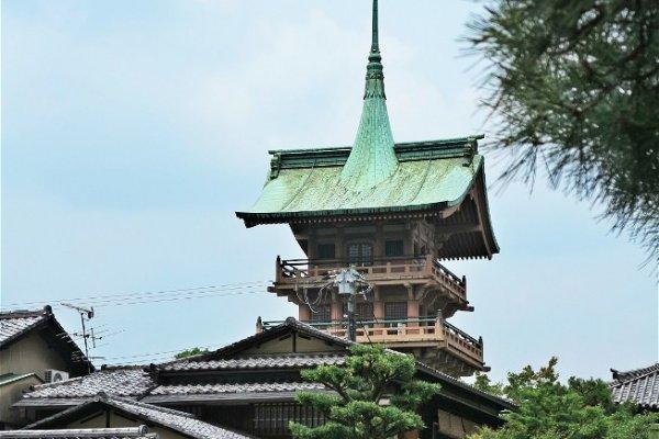 高台寺一景