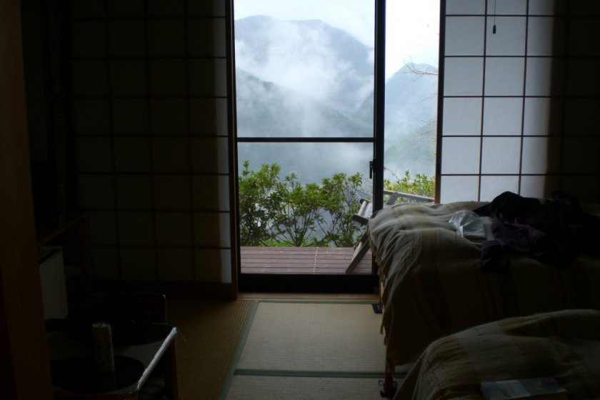 A room with a view - All rooms have that view at Kiri-no-Sato Lodge