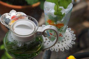<p>Tea fresh from the garden</p>