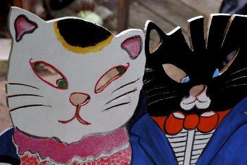 Onomichi's 'Cat Alley'