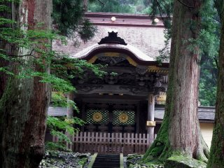 Closer look at Kara-mon Gate