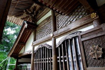 영평사(永平寺)의 승양전
