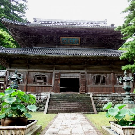 Buddha Hall of Eiheiji Temple