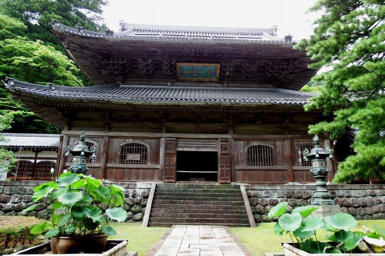 Buddha Hall of Eiheiji Temple